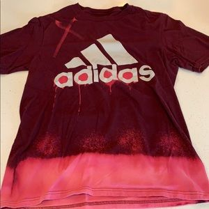 Adidas 1/1 Bleach Design Men's S Tee Shirt